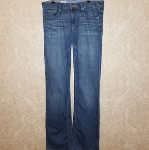 Gap Long and Lean medium wash jeans